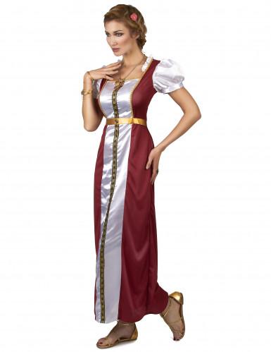Keskiaikaisen naisen asu aikuisille-1