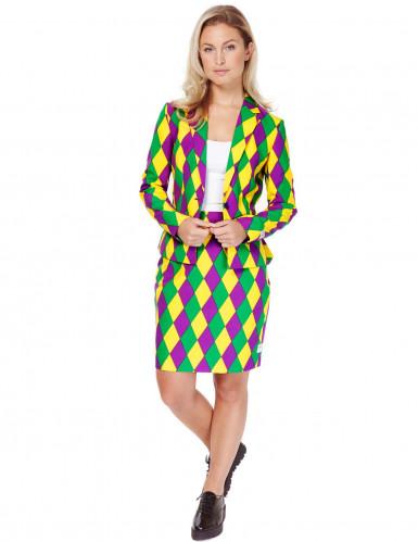 Mrs. Harlekiinin Opposuits™-puku naiselle