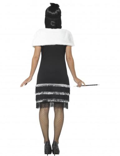 20- luvun Charleston- naamiaisasu ja huivi naiselle-3