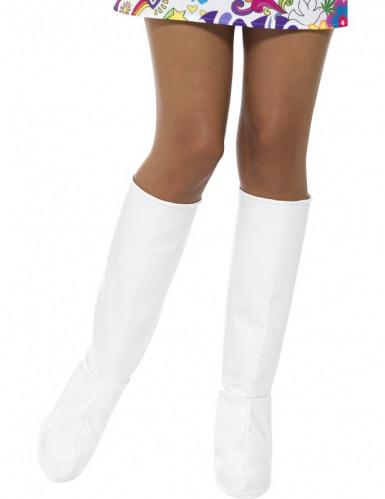 Valkoiset kengänpäälliset naiselle