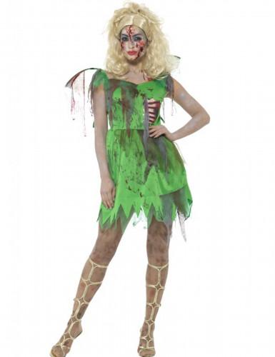 Zombikeijun halloween- naamiaisasu naiselle
