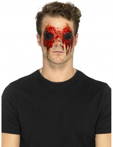 Lateksiset irtirevityt silmät- proteesi aikuiselle halloween-1