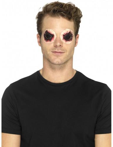 Lateksiset irtirevityt silmät- proteesi aikuiselle halloween-2