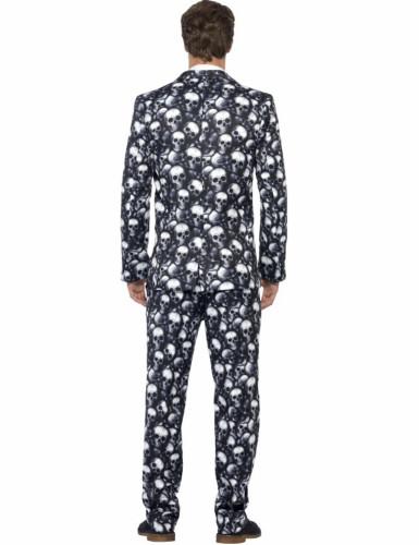 Mr. Pääkallo -Halloween puku aikuisille-1