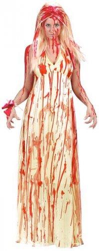 Veritahraisen morsiammen naamiaisasu naiselle