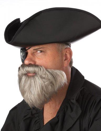 Harmaa karibialainen parta miehelle