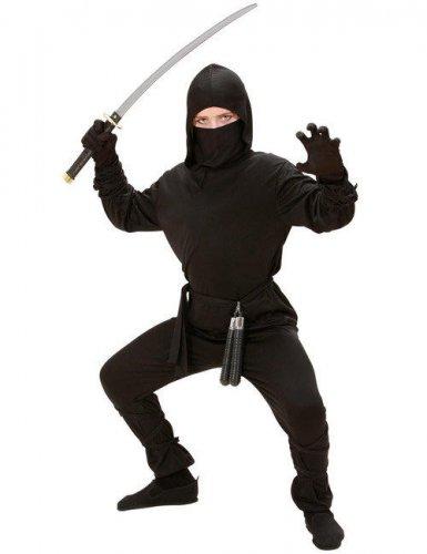 Ninjan musta naamiaisasu lapselle