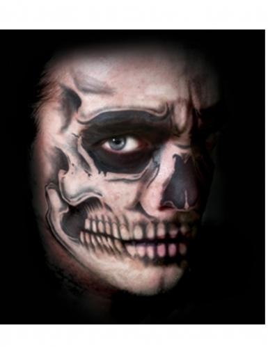 Luurangon kasvot- tatuointi aikuiselle-1