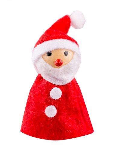 Jouluinen joulupukkipatsas 8 x 3 cm