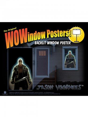 Perjantai 13™ Jason Voorhees- ikkunatarra 91x152 cm