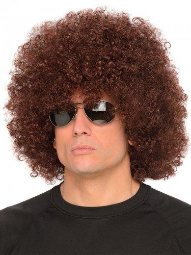 Ruskea afroperuukki aikuiselle