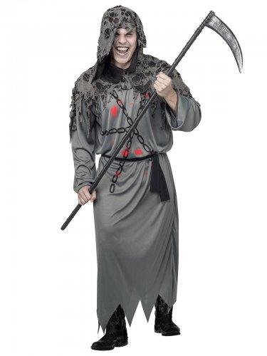 Pelottava viikatemies - Halloween asu aikuisille
