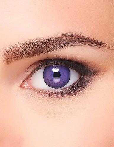 Monsterin violetit piilolinssit aikuiselle