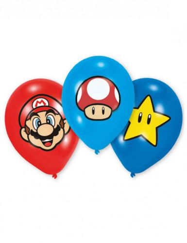Super Mario™-ilmapallot 6 kpl