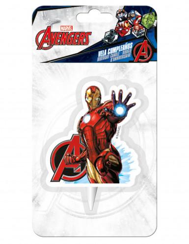 Iron Man™ -kakkukynttilä-1