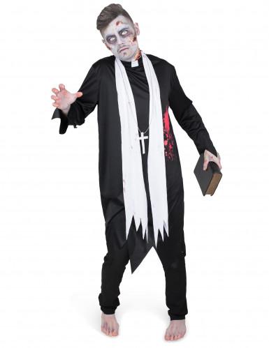 Zombie pappi - aikuisten naamiaisasu-1