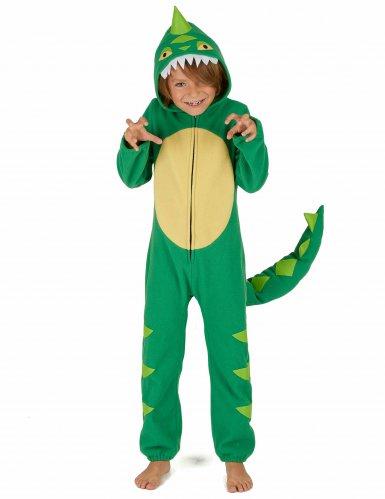 Vihreä dinosaurusasu lapsille