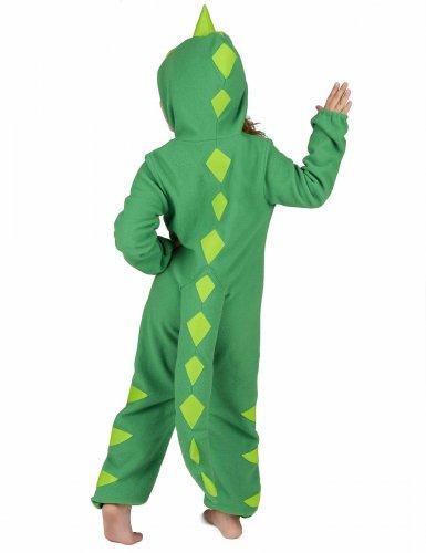 Vihreä dinosaurusasu lapsille-4