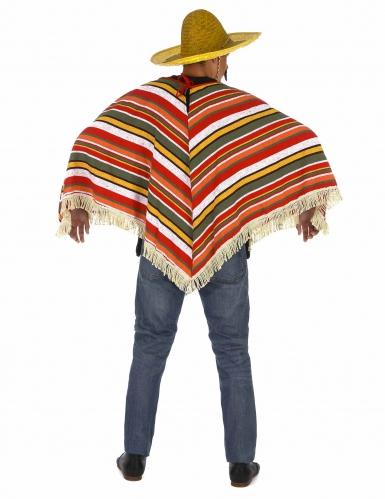 Meksikolais-tyylinen poncho aikuisille-2