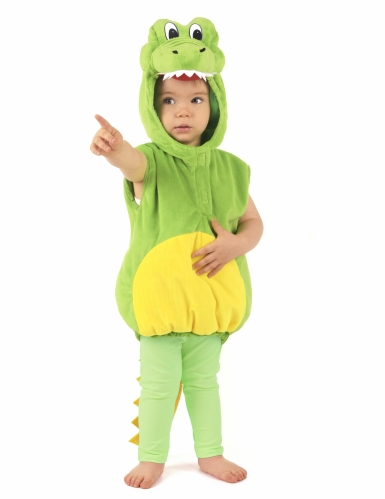 Krokotiili-naamiaisasu lapsille-4