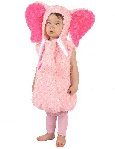 Pieni elefantti-naamiaisasu lapsille (vaaleanpunainen)-1