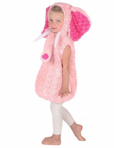 Pieni elefantti-naamiaisasu lapsille (vaaleanpunainen)-2