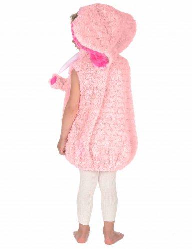 Pieni elefantti-naamiaisasu lapsille (vaaleanpunainen)-3