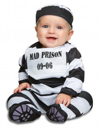 Raidallinen vankiasu vauvalle