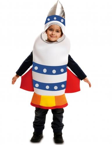 Avaruusraketti-naamiaisasu lapselle