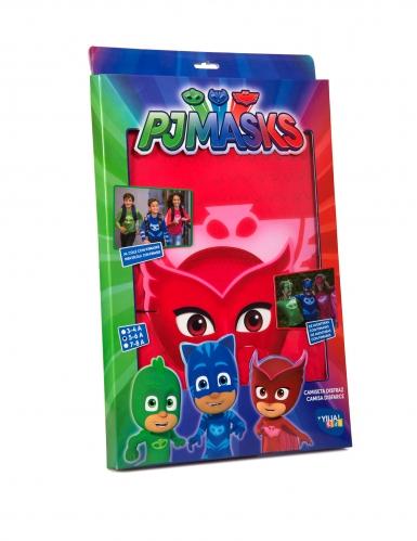 Pyjamasankarit™ Pöllö-naamiaisasu lapsille-5