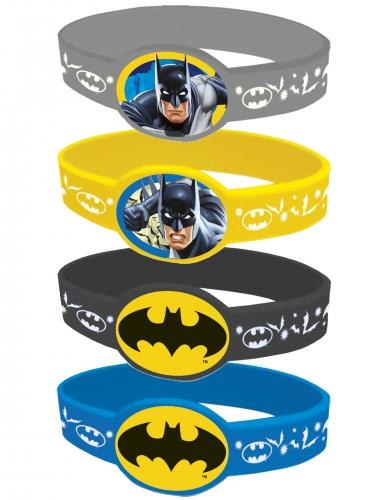4 Batman™ joustavaa rannekorua