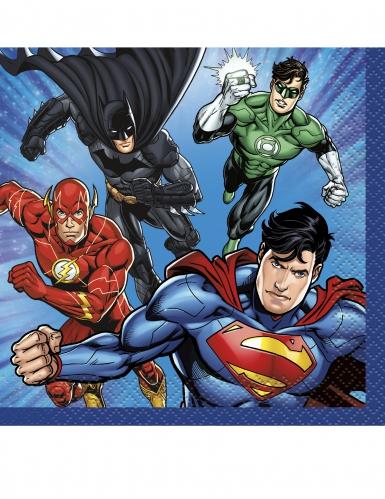 Justice League™ -lautasliinat 16 kpl