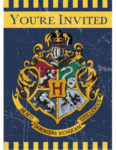 Kahdeksan Harry Potter™-kutsukorttia
