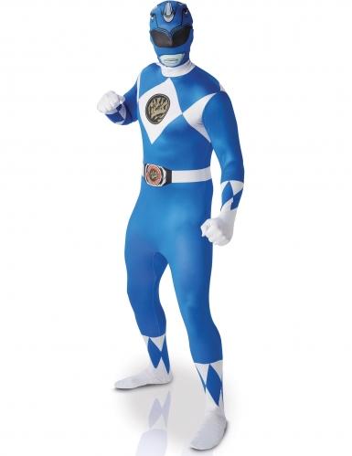 Sininen Power Rangers™-puku aikuiselle