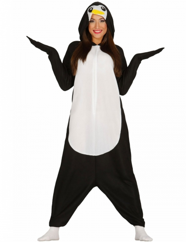 Pingviini-naamiaisasu aikuisille