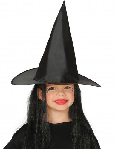 Noidan hattu mustilla hiuksilla lapselle