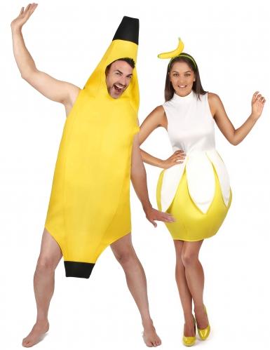 Banaanipari -naamiaisasusetti aikuisille