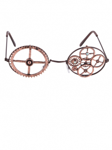 Pronssinväriset Steampunk -lasit-1