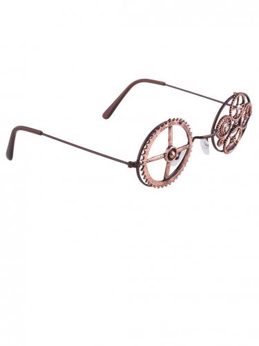 Pronssinväriset Steampunk -lasit-2