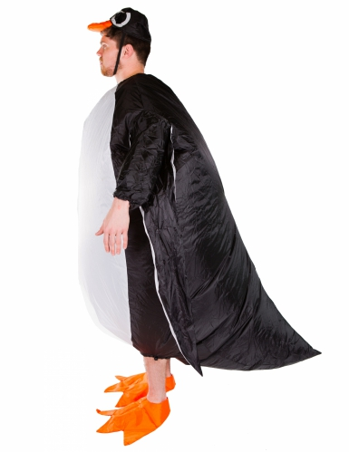 Puhallettava pingviini-naamiaisasu aikuisille-1