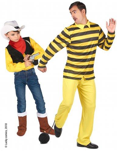 Lucky Luke ja Dalton™ -naamiaisasusetti aikuiselle ja lapselle