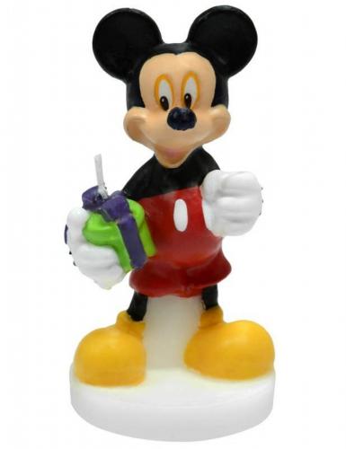 Disney™ Mikki -kakkukynttilä 4,5 x 9 cm