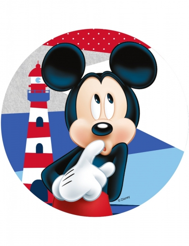 Disney™ Mikki -kakkukuva 21 cm