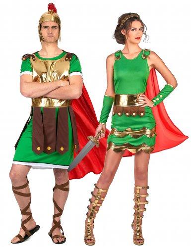 Roomalaiset sotilaat -naamiaisasu pareille