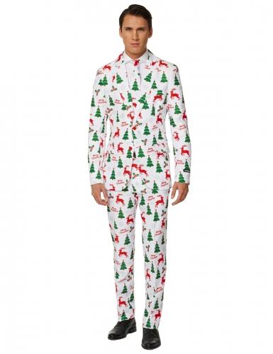 Valkoinen Mr. Merry Xmas Suitmeister™- puku