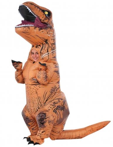 Jurassic World™T-Rex -puhallettava naamiaisasu lapselle