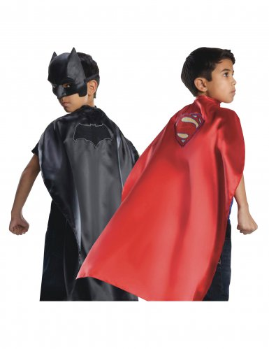 Batmna™ ja Superman Justice League™ käännettävä viitta lapselle