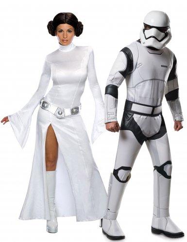 Star Wars™: Leia & Stormtrooper -naamiaisasusetti