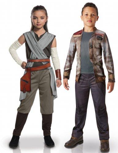 Star Wars™: Rey & Finn -naamiaisasusetti lapsille