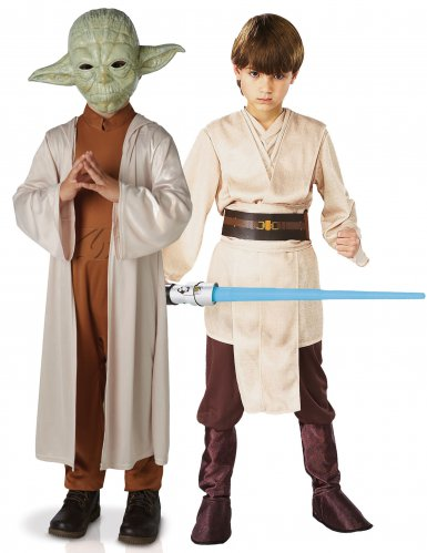 Star Wars™ Yoda & Jedi -naamiaisasusetti lapsille